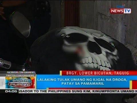 BP: Lalaking tulak umano ng iligal na droga, patay sa pamamaril