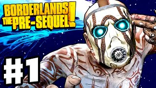 Borderlands: The Pre-Sequel - Gameplay Walkthrough Part 1 - Athena and Jack Intro (PC)