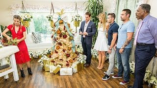 How To - Orly Shani's DIY Burlap Christmas Tree - Home & Family