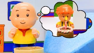 Funny Animated cartoons Kids   BIRTHDAY CAKE   WATCH ONLINE   Caillou Stop Motion #Caillou #Cartoon