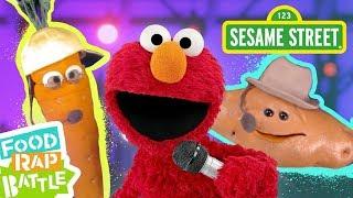 Sesame Street: Carrot vs. Sweet Potato feat. Daveed Diggs & Rafael Casal | Elmo