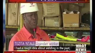 یوگنڈا میں چین کی مدد سے تیار کیا گیا ہائیڈرو پاور پلانٹ