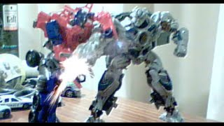 Transformers AoE Stop Motion: Galvatron VS Prime [800 SUBS!!! ]
