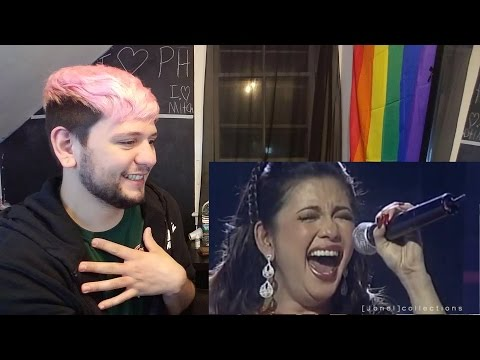The Best LIVE Singer in the World Regine Velasquez REACTION