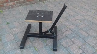 Home Made Dirtbike stand DIY
