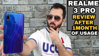 Realme 3 Pro Review After 1Month Of Usage with Pros & Cons|Camera, Gaming, Heating Test|