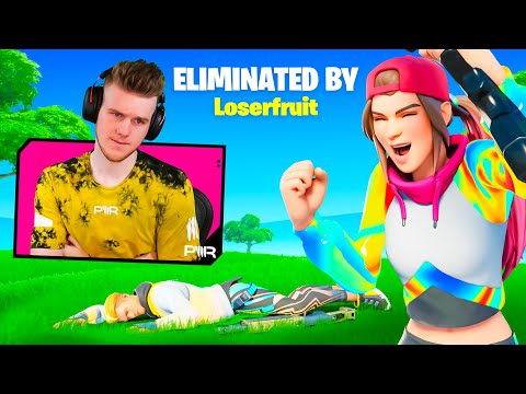 Reacting to Players Eliminating me In Fortnite