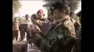 ISPR tribute to General Pervez Musharraf former president of Pakistan & SSG Commando