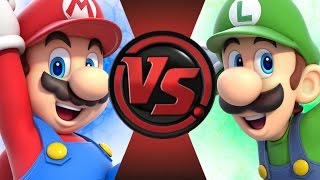 MARIO vs LUIGI! Cartoon Fight Club Episode 51