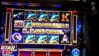 Ainsworth Gaming - Star Fire Slot Bonus MAX BET