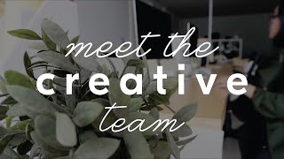 #COTTONINKTEAM - Meet the Creative Team