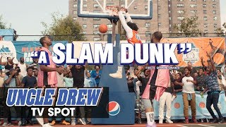 "Uncle Drew (2018 Movie) Official TV Spot ""Slam Dunk"" - Kyrie Irving, Shaq, Lil Rel, Tiffany Haddish"