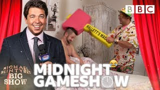 Contestant too tired 😴😂 to play the Midnight Gameshow! - BBC