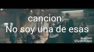 No soy una de esas con letra - Jesse y Joy ft. Alejandro Sanz