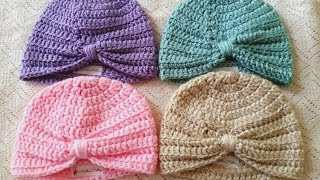 Download Baby Turban Crochet Tutorial 3Gp Mp4