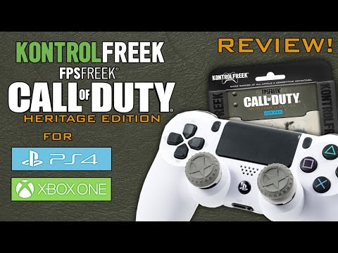KontrolFreek FPS Freek Call of Duty Heritage Edition Unboxing & Review!