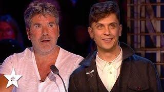 Magician Amazes Simon Cowell on Britain