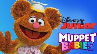 Muppet Babies  |  Fozzie Bear Puzzles Educational Preschool Games  |  Disney Junior App For Kids