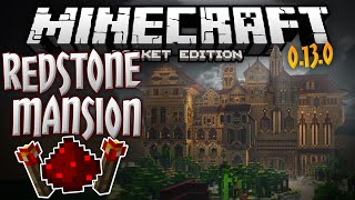 REDSTONE MANSION!!! - Official Mojang Adventure Map for 0.13.0 - Minecraft PE (Pocket Edition)