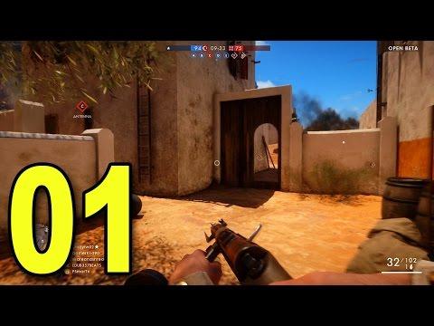 watch Battlefield 1 Multiplayer - Part 1 - CONQUEST! (Beta Gameplay)