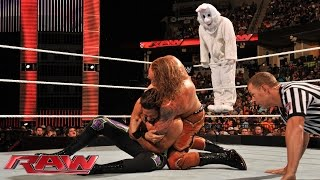 Adam Rose & The Bunny vs. Heath Slater & Titus O'Neil: Raw, Sept. 22, 2014