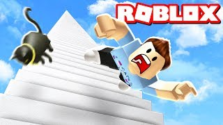 FALL DOWN 999,999 STAIRS IN ROBLOX