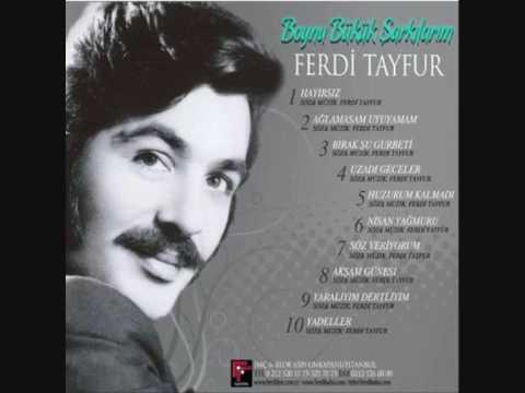01.Ferdi Tayfur Hayirsiz Yep Yeni Albüm 2010