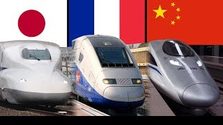Top 11 Countries with Fastest Operating Speed Trains