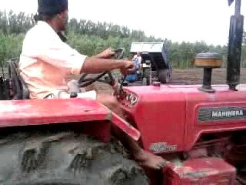sonalika 745 mahindra 475 pull the trali in punjab