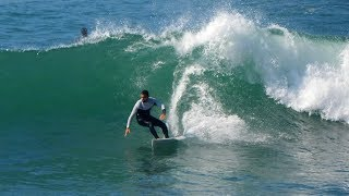 Surfing County Line Ventura California