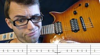 Top 10 EASIEST Guitar Solos!
