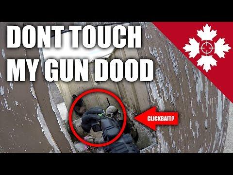 DUDE! Dont Touch My Gun | DMR Scopecam Cheaters Gameplay