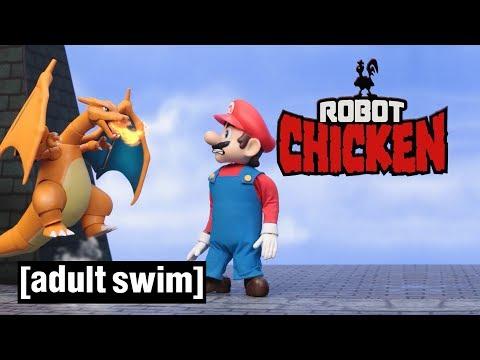 Robot Chicken The Smashing Games Adult Swim UK 🇬🇧