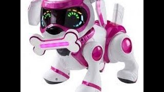 Overview of ROBOTIC DOG PUPPY TEKSTA PINK TOP GIRLS TOY