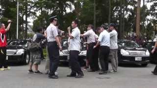20130815 蛋洗行政院 警察暴力推擠 妨礙採訪自由