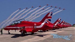 Royal Air Force Red Arrows visit Zemunik 93rd Air Base