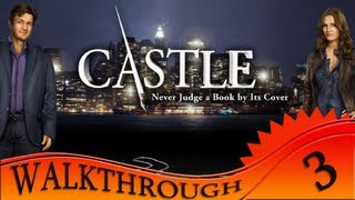 Castle: Never Judge a Book by Its Cover - Walkthrough #3 - Arrows in Touchpad