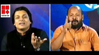 Rahul Easwar vs Sunil Kumar, Communist MLA - Reporter TV