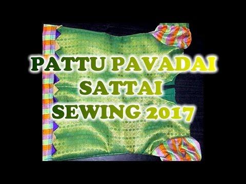 Xxx Mp4 ✔ DIY PATTU PAVADAI SATTAI SEWING BLOUSE IN TAMIL 2017 Green 3gp Sex
