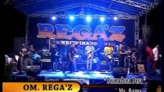 REGAZ Live Slempit Kedamean 2016 - Primadona Desa - Mr. Bams