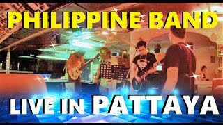 PHILIPPINE BAND IN PATTAYA : EDITING YOUTUBE VIDEOS Final result