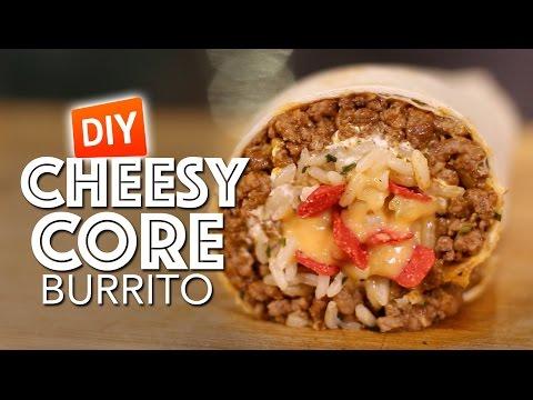 DIY Cheesy Core Burrito Recipe PRANK
