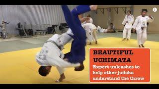 Beautiful UCHIMATA 内股 by Genta Mikami (Inner thigh judo throw)