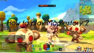 Maplestory2 Creating an Account + Downloading
