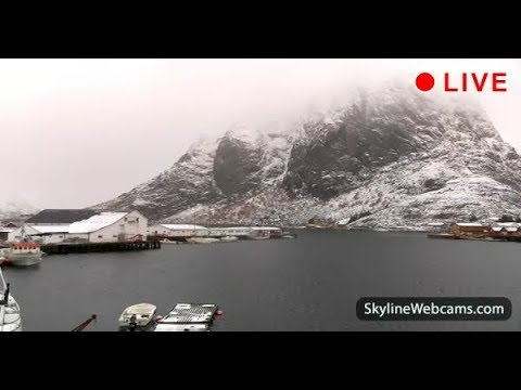 Live Webcam from Lofoten Islands Norway