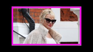 Pamela anderson, 50, smoulders in collection of y lingerie