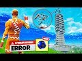 CRASHING A SERVER with SPIKEY STADIUMS in Fortnite Battle Royale