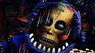 A HUMAN IS TRAPPED IN THIS ANIMATRONIC.. | FNAF Ultimate Custom Night Mod