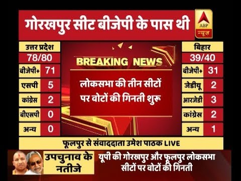 Xxx Mp4 ABP Results Counting On UP S Gorakhpur And Phulpur And Bihar S Araria LS Seats Begins 3gp Sex