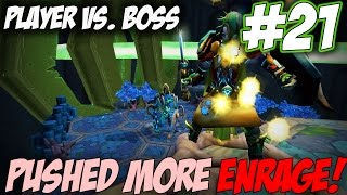 Player Vs. Boss | Episode 21 [PUSHING ENRAGE!] Runescape 3 Gameplay